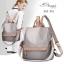 กระเป๋าเป้ผู้หญิงสะพายแบบน่ารัก สะพายได้หลายแบบ BAG-061-เทา (สีเทา) thumbnail 1