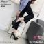 พร้อมส่ง รองเท้าคัชชูงานเกาหลีนำเข้า K9316-BLK [สีดำ] thumbnail 2