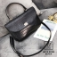 กระเป๋าแฟชั่นงานนำเข้าหนังปั๊มลายจระเข้สุดหรู MB18-02304-BLK (สีดำ) thumbnail 3