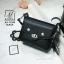 กระเป๋าสะพายกระเป๋าถือ แฟชั่นนำเข้าสไตล์เกาหลีสุดน่ารัก AX-12399-BLK (สีดำ)