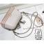 กระเป๋าสะพายกระเป๋าถือ แฟชั่นนำเข้าฉลุลายแต่งโบว์สุดน่ารัก AX-12283-CRM (สีครีม) thumbnail 5