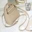 กระเป๋าสะพายกระเป๋าถือ แฟชั่นนำเข้าสไตล์คุณหนู แบรนด์ axixi แท้ AX-12443-CRM (สีครีม) thumbnail 5