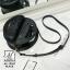 กระเป๋าสะพายกระเป๋าถือ แฟชั่นนำเข้าดีไซน์สุดเก๋ส์ AX-12357-BLK (สีดำ) thumbnail 4