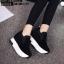 รองเท้าผ้าใบสีดำ ST1618-BLK thumbnail 1