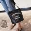 กระเป๋าสะพายกระเป๋าปักเลื่อม แฟชั่นงานนำเข้าทรงกระบอกปักเลื่อมวิ๊บวับ MB18-01205-BLK (สีดำ) thumbnail 5