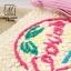 กระเป๋าถือกระเป๋าสาน สาน handmade งานนำเข้าสไตล์เกาหลี MB18-00303-CRM (สีครีม) thumbnail 5