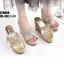 รองเท้าสวมส้นเตารีดสีทอง LB-ST8008-GLD thumbnail 5