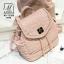 กระเป๋าสะพายเป้กระเป๋าถือ เป้แฟชั่นนำเข้าสุดน่ารัก AX-12285-PNK (สีชมพู) thumbnail 2