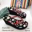รองเท้าเตารีดคีบพอลแฟรง H001-ดำ (สีดำ) thumbnail 2