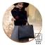 กระเป๋าสะพายกระเป๋าถือ แบรนด์ BEIBAOBAO แท้ ทรงสี่เหลี่ยมสุดเท่ห์ BT0044-BLK (สีดำ) thumbnail 2