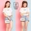 กระเป๋าแฟชั่นนำเข้าแบรนด์ BEIBAOBAO B10065-WHT (สีขาว) thumbnail 2