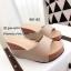 รองเท้าแตะเสริมส้นแบบสวม 981-82-ครีม (สีครีม) thumbnail 2