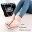รองเท้าเตารีด แบบคีบ mcm 915-78-APR (สีแอปริคอท)