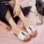 รองเท้าแตะผู้หญิงสีขาว สไตล์YSL sandals LB-602-WHI thumbnail 5