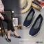 รองเท้าผ้าใบพื้นสุขภาพ 265-42-ดำ (สีดำ) thumbnail 2
