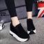 รองเท้าผ้าใบสีดำ ST1618-BLK thumbnail 3