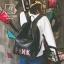 กระเป๋าสะพายเป้กระเป๋าถือ เป้แฟชั่นงานนำเข้าปักเลื่อมสไตล์แบรนด์ดัง MB18-01002-BLK (สีดำ) thumbnail 2