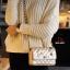 กระเป๋าแฟชั่นนำเข้าสะพายข้าง style CHANEL WFO-0001-GLD (สีทอง) thumbnail 3