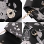 กระเป๋าสะพายกระเป๋าถือ แฟชั่นนำเข้าลายดอกไม้สุดเก๋ส์ AX-11981-BLK [สีดำ] thumbnail 5