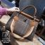 กระเป๋าสะพายกระเป๋าถือ แฟชั่นนำเข้าทรงยอดฮิตแบบแบรนด์ดัง MB18-01001-BRO (สีน้ำตาล) thumbnail 4