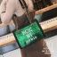 กระเป๋าแฟชั่นงานนำเข้าทรงยอดฮิตปักเลื่อมวิ๊บวับ MB18-01604-GRN (สีเขียว) thumbnail 5