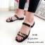 รองเท้าแตะคาดlv B4-382-ดำ (สีดำ) thumbnail 3