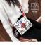 กระเป๋าแฟชั่นนำเข้าลายสุดเก๋ส์สไตล์แบรนด์ดัง BX1022-WHT (สีขาว) thumbnail 3