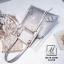 กระเป๋าแฟชั่นงานนำเข้าแบบวัสดุพลาสติกใสดีไซน์สุดเก๋ส์ MB18-02501-SIL (สีเงิน) thumbnail 4