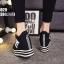รองเท้าผ้าใบสีดำ ST8029-BLK thumbnail 4