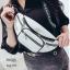 กระเป๋าคาดอก หรือคาดเอวดีไซน์สุดเท่ห์ BAG-075-ขาว (สีขาว) thumbnail 1