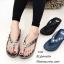 รองเท้าแตะเพื่อสุขภาพสีเทา คีบ YT122-เทา thumbnail 3