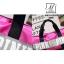 กระเป๋าแฟชั่นงานนำเข้าทรงใหญ่ใบเดียวตอบโจทย์ MB18-02505-PNK (สีชมพู) thumbnail 5