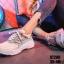 รองเท้าผ้าใบสีน้ำเงิน ST280-BLU thumbnail 3