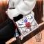 กระเป๋าแฟชั่นนำเข้าลายสุดเก๋ส์สไตล์แบรนด์ดัง BX1022-WHT (สีขาว) thumbnail 2
