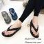 รองเท้าแตะเพื่อสุขภาพสีดำ คีบ YT122-ดำ thumbnail 4