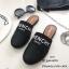 รองเท้าแตะทรงสลิปเปอร์ เปิดส้นgivenchy G611-ดำ (สีดำ) thumbnail 1