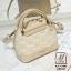 กระเป๋าสะพายกระเป๋าถือ แฟชั่นนำเข้าสไตล์คุณหนู แบรนด์ axixi แท้ AX-12443-CRM (สีครีม) thumbnail 1