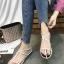 รองเท้าแตะผู้หญิงรัดส้นสีขาว Celine sandals LB-C55-1-WHI thumbnail 3