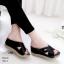 งานสวยรองเท้าเตารีดสีดำ ที่นิ่มสุดใน3 โลก LB-5214-ดำ thumbnail 1