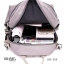 แบบมาใหม่ ทรงสุดฮิต กระเป๋าเป้ผู้หญิงผ้าไนล่อนอย่างดี BAG-066-เทา (สีเทา) thumbnail 4