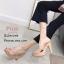 รองเท้าแตะส้นสูงแบบสวมไขว้ 3006-5-ชมพู (สีชมพู) thumbnail 3