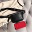 กระเป๋าแฟชั่นงานนำเข้าแบบคาดสุดฮิป MB18-01806-BLK (สีดำ) thumbnail 3
