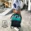 กระเป๋าเป้แฟชั่นงานนำเข้าสไตล์แบรนด์ดัง MB18-01904-GRN (สีเขียว) thumbnail 2