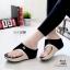รองเท้าเเตารีดสีดำ หูคีบลาคอส เวอร์ชั่นใหม่ ใส่สบายนิ่มฝุดๆ 6085-ดำ thumbnail 1