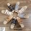 พร้อมส่ง รองเท้าสวมลำลองส้นเตารีด 981-70-GRA [สีเทา] thumbnail 3