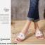 รองเท้าแตะหนัง Style Brand Herme DD22-ขาว (สีขาว) thumbnail 5