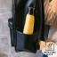 กระเป๋าสะพายเป้กระเป๋าถือ เป้แฟชั่นงานนำเข้าปักเลื่อมสไตล์แบรนด์ดัง MB18-01002-BLK (สีดำ) thumbnail 5