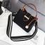 กระเป๋าสะพายกระเป๋าถือ แฟชั่นนำเข้าทรงยอดฮิต แบรนด์ BEIBAOBAO แท้ BR0377-BLK (สีดำ) thumbnail 1