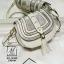 กระเป๋าสะพายกระเป๋าถือ ทรงกลมดีไซน์สุดเก๋ส์ แบรนด์ axixi AX-12432-CRM (สีครีม) thumbnail 1
