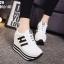 รองเท้าผ้าใบสีขาว ST8029-WHI thumbnail 3